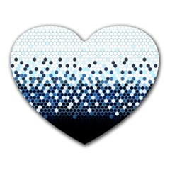Tech Camouflage Heart Mousepads by jumpercat