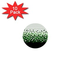 Tech Camouflage 2 1  Mini Buttons (10 Pack)  by jumpercat