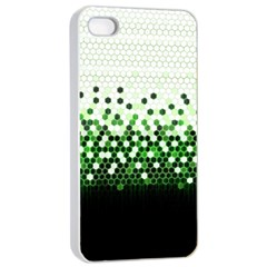 Tech Camouflage 2 Apple Iphone 4/4s Seamless Case (white) by jumpercat