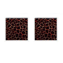 Magma Cufflinks (square) by jumpercat
