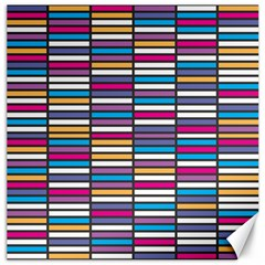 Color Grid 01 Canvas 16  X 16   by jumpercat