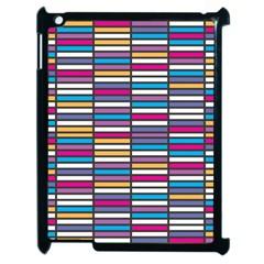 Color Grid 01 Apple Ipad 2 Case (black) by jumpercat