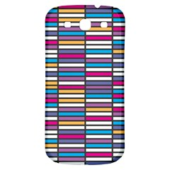 Color Grid 01 Samsung Galaxy S3 S Iii Classic Hardshell Back Case by jumpercat