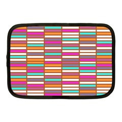 Color Grid 02 Netbook Case (medium)  by jumpercat