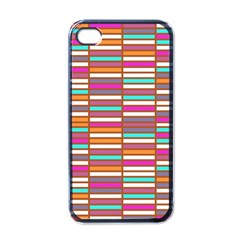 Color Grid 02 Apple Iphone 4 Case (black) by jumpercat