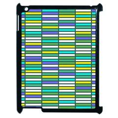 Color Grid 03 Apple Ipad 2 Case (black) by jumpercat