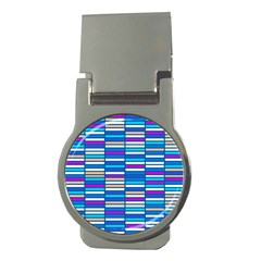 Color Grid 04 Money Clips (round)  by jumpercat