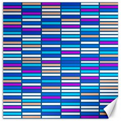 Color Grid 04 Canvas 16  X 16   by jumpercat