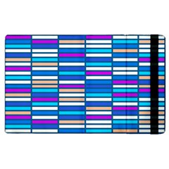 Color Grid 04 Apple Ipad 3/4 Flip Case by jumpercat