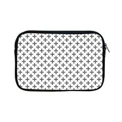 Black Cross Apple Ipad Mini Zipper Cases by jumpercat