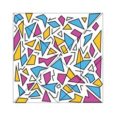 Retro Shapes 01 Acrylic Tangram Puzzle (6  X 6 ) by jumpercat