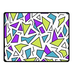 Retro Shapes 02 Fleece Blanket (small) by jumpercat