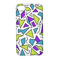 Retro Shapes 02 Apple Iphone 4/4s Hardshell Case With Stand by jumpercat