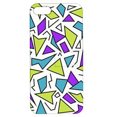 Retro Shapes 02 Apple Iphone 5 Hardshell Case With Stand by jumpercat