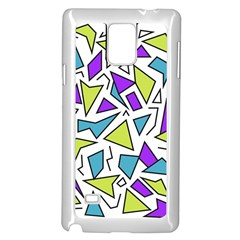 Retro Shapes 02 Samsung Galaxy Note 4 Case (white) by jumpercat