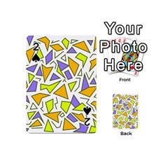 Retro Shapes 04 Playing Cards 54 (mini)  by jumpercat