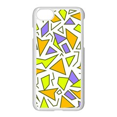 Retro Shapes 04 Apple Iphone 8 Seamless Case (white) by jumpercat