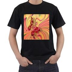 Arrangement Butterfly Aesthetics Men s T Shirt (black) (two Sided) by Celenk