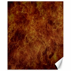 Abstract Flames Fire Hot Canvas 16  X 20