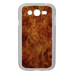 Abstract Flames Fire Hot Samsung Galaxy Grand Duos I9082 Case (white) by Celenk