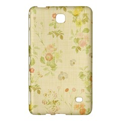 Floral Wallpaper Flowers Vintage Samsung Galaxy Tab 4 (8 ) Hardshell Case  by Celenk