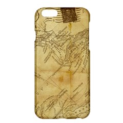 Vintage Map Background Paper Apple Iphone 6 Plus/6s Plus Hardshell Case by Celenk