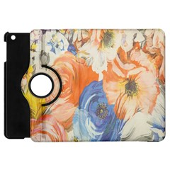 Texture Fabric Textile Detail Apple Ipad Mini Flip 360 Case by Celenk