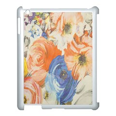 Texture Fabric Textile Detail Apple Ipad 3/4 Case (white) by Celenk