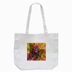 Arrangement Butterfly Aesthetics Tote Bag (white)