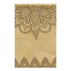 Vintage Background Paper Mandala Shower Curtain 48  X 72  (small)  by Celenk