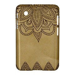 Vintage Background Paper Mandala Samsung Galaxy Tab 2 (7 ) P3100 Hardshell Case  by Celenk