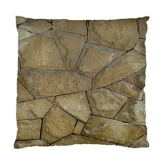 Brick Wall Stone Kennedy Standard Cushion Case (two Sides) by Celenk