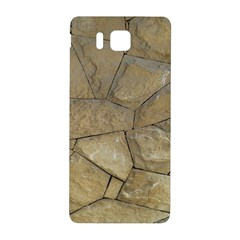 Brick Wall Stone Kennedy Samsung Galaxy Alpha Hardshell Back Case by Celenk