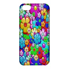 Flowers Ornament Decoration Apple Iphone 5c Hardshell Case