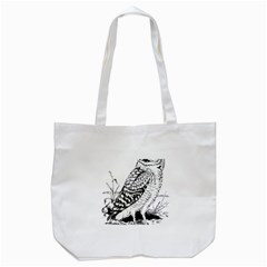 Animal Bird Forest Nature Owl Tote Bag (white) by Celenk