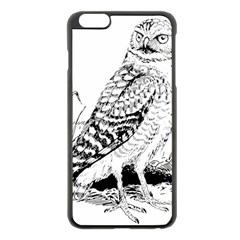Animal Bird Forest Nature Owl Apple Iphone 6 Plus/6s Plus Black Enamel Case by Celenk