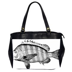 Animal Fish Ocean Sea Office Handbags (2 Sides)  by Celenk