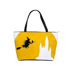 Castle Cat Evil Female Fictional Shoulder Handbags by Celenk