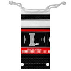 Compact Cassette Musicassette Mc Jewelry Bag by Celenk