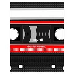 Compact Cassette Musicassette Mc Drawstring Bag (large) by Celenk