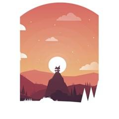 Design Art Hill Hut Landscape 5 5  X 8 5  Notebooks by Celenk