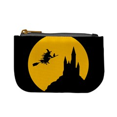 Castle Cat Evil Female Fictional Mini Coin Purses by Celenk
