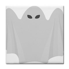 Ghost Halloween Spooky Horror Fear Tile Coasters by Celenk