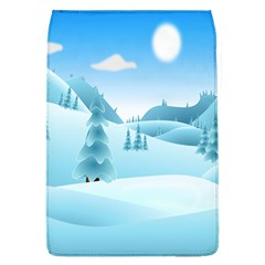 Landscape Winter Ice Cold Xmas Flap Covers (l)  by Celenk