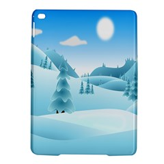 Landscape Winter Ice Cold Xmas Ipad Air 2 Hardshell Cases by Celenk