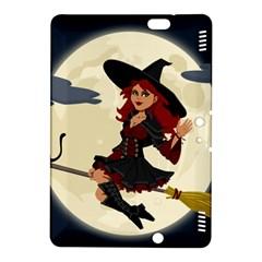 Witch Witchcraft Broomstick Broom Kindle Fire Hdx 8 9  Hardshell Case by Celenk