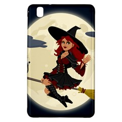 Witch Witchcraft Broomstick Broom Samsung Galaxy Tab Pro 8 4 Hardshell Case by Celenk