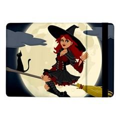 Witch Witchcraft Broomstick Broom Samsung Galaxy Tab Pro 10 1  Flip Case by Celenk