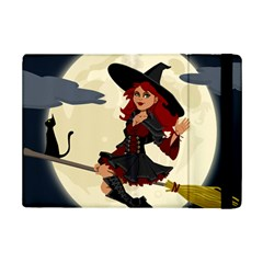 Witch Witchcraft Broomstick Broom Ipad Mini 2 Flip Cases by Celenk