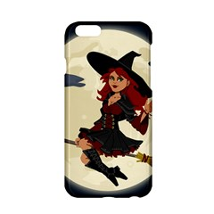 Witch Witchcraft Broomstick Broom Apple Iphone 6/6s Hardshell Case by Celenk